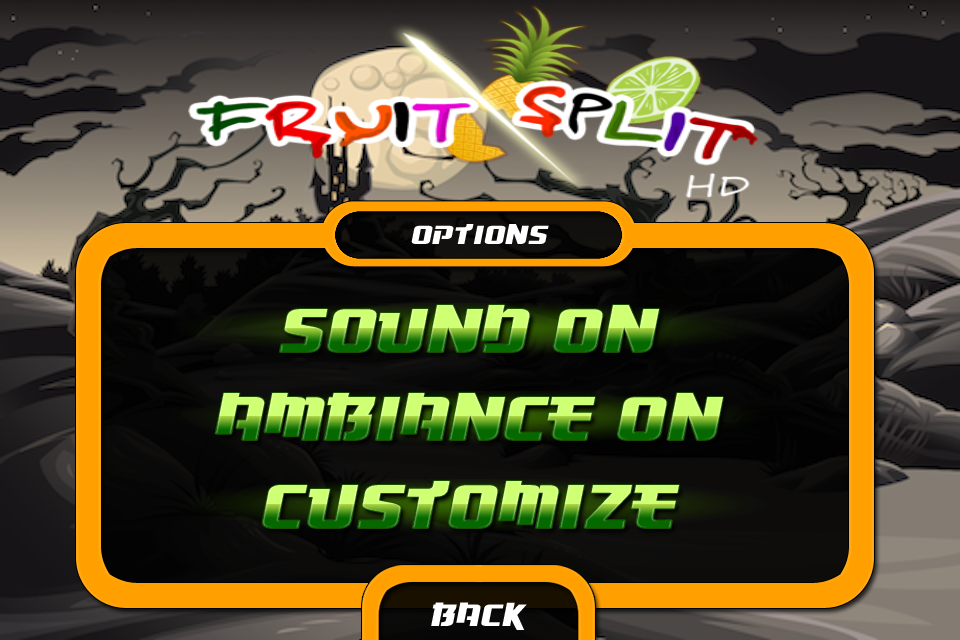Screenshot fruit split HD