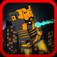 Block Pixel Craft Man Hitter Mania - Godzilla Edition